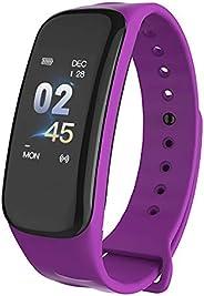 Decdeal IP67 Smart Bracelet Women Men Fitness Tracker Watch with Heart Rate Blood Pressure Blood Oxygen Step C