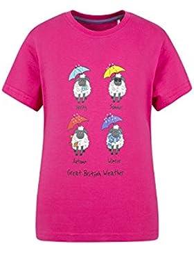 Mountain Warehouse Great British Weather Kinder-T-Shirt