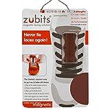 zubits magnetisk skobindel stängningssystem för skor kvinnor/män/barn, - BRUN - #3 Sport/über 84 Kg