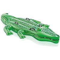 Anillo de natación Inflable del Juguete del Animal del Parque del Agua del Adulto del Parque de la Nadada de los niños cocodrilo