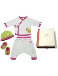Pandi Panda Baby Girls' Outfit pink Fuchsia Pink 6 to 12 Months