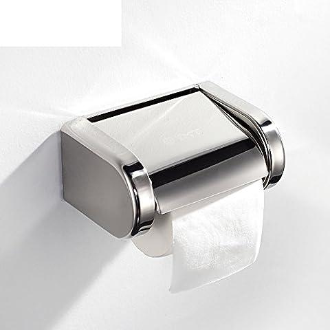 Scatola del tessuto in acciaio inox/Vassoio di servizi igienici bagno/Download/ casella volume
