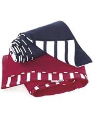 Kinder-Schal, einseitig gestreift