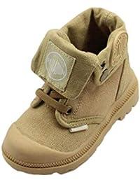 Zapatillas para niños Unisex Zapatos de Lona Altos Botas Martin cómodas Botas Militares Ocasionales