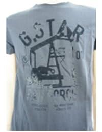 G-STAR Herren T-Shirt Schwarz Schwarz