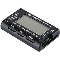 Golden Seeds Lipo Checker Capacità Della Batteria LCD Tester Checker per LiPo / LiFe / Li-Ion / NiMH / NiCd