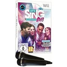 Let's Sing 2018 mit Deutschen Hits + 2 Mics [Wii + Wii U]