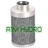 Rhino Pro Carbon Filter 4 Inch 100mm x 300mm 350m3/hr Hydroponics