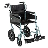 Patterson Medical Days Escape Lite Aluminium Wheelchair,  Silver Blue - Standard