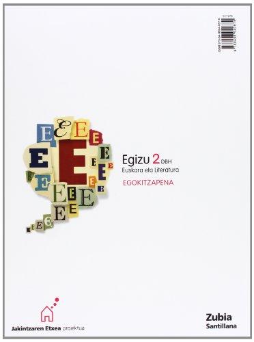 EGIZU 2 DBH EUSKARA ETA LITERATURA EGORITZAPENA JAKINTZAREN ETXEA - 9788498940879