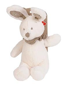 SIMBA 6305795240 Conejo de juguete Gris, Color blanco juguete de peluche - Juguetes de peluche (Conejo de juguete, Gris, Blanco, 300 mm)