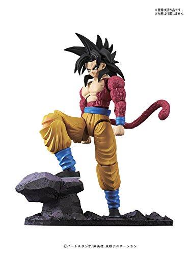 Bandai Hobby-Son Goku Super Saiyan 4 Model Kit 14 cm Dragon Ball GT Figure-Rise Standard 84086P (BDHDB144977) 4