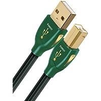 AudioQuest 3m Forest USB A-B 3m USB A USB B Macho Macho Negro - Cable USB (3 m, USB A, USB B, 2.0, Macho/Macho, Negro)