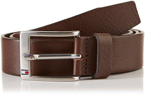 Tommy Hilfiger New Aly Belt, Cintura Uomo, Marrone (TESTA DI MORO-EUR), 110(UK)
