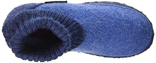 Giesswein Unisex-Kinder Kramsach Hausschuhe Blau (547 / capriblau)