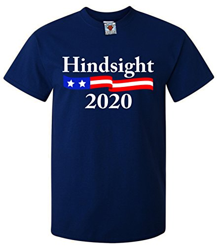 Bullshirt 's Herren 's im nachhinein 2020T-Shirt marineblau