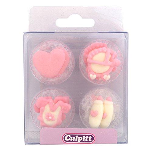 (Culpitt Zucker Dekoration Baby Pink 295A)
