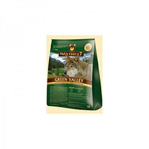 WOLFSBLUT Trockenfutter GREEN VALLEY Lamm + Fisch Adult für Hunde 15,0 kg
