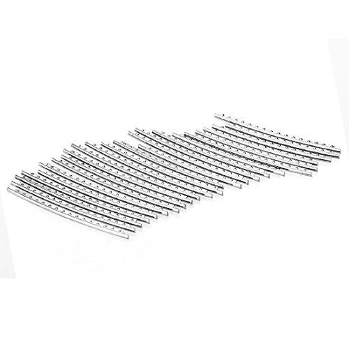 Imagen de profesional 2.2mm tono de plata resistente duradero 24trastes alambre piezas de recambio para  acústica alternativa