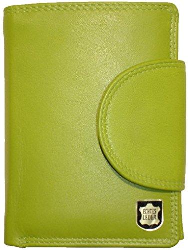 Josephine Osthoff Handtaschen-Manufaktur Josybag's Wiener Minibrieftasche limone Leder Geldbörse 934/59