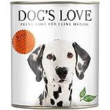 DOG'S LOVE Rind mit Apfel, Spinat & Zucchini, 6er Pack (6 x 400 g)