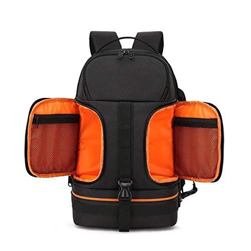 Neue Multifunktions wasserdicht und stoßfest große Kapazität SLR-Kamera Rucksack stoßfest Freizeit Reisetasche Outdoor-Kamera Rucksack 27 * 20 * 45 cm Orange Outdoor-Rucksack Outdoor-Produkt, das Bett