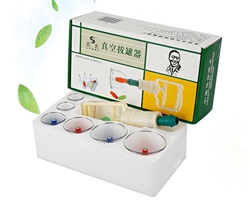 Urparcel Ventouse Massage Soin de santé Set de 6 Tasse ventouse Ventouse de la famille