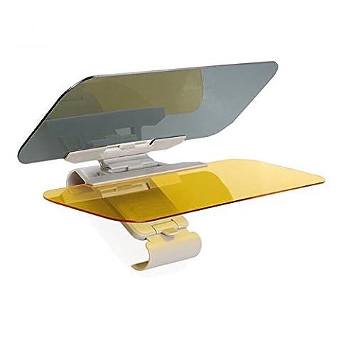 Auto Anti-Glare Windschutzscheibe Extender - universelle Sonnenblende Schutzbrille Tag und Nachtsicht Anti-blenden autour