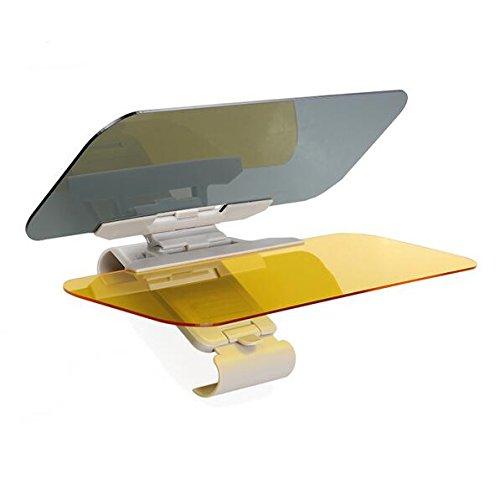 Auto anti-glare-functie voorruit Extender–Universele zonneklep veiligheidsbril dag en nachtzicht Anti-schermen (Farbe Großer Schlüssel Deckt)