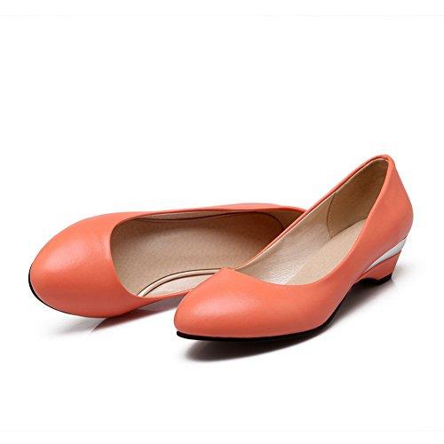 A&N - Sandali con Zeppa donna Orange