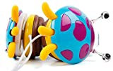 DURAGADGET Blue/Violet Ladybird Childrens Headphones - Compatible with the Clementoni Elettronici 13038 - by