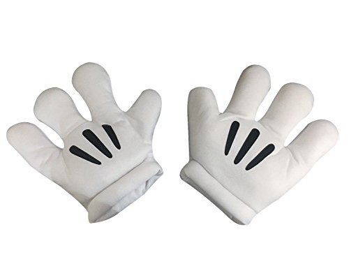 Karikatur-Mickey Mouse-Hände Große Gepolsterte Handschuhe Abendkleid (Fantasia Mickey Mouse Kostüm)