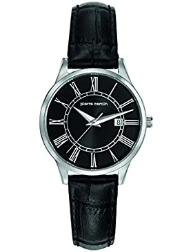Pierre Cardin-Damen-Armbanduhr-PC901732F02, Schwarz/Schwarz