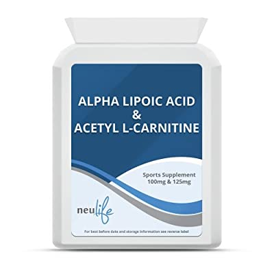 Neulife Health and Fitness Alpha Lipoic Acid & Acetyl L-Carnitine