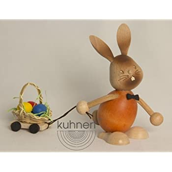 Kuhnert Osterhase Stupsi Hase mit Eierwagen NEU 2013