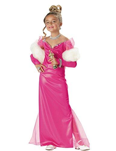 Starlet Kostüm für Mädchen 116/128 (6-8 Jahre) (Hollywood Starlet Kostüme)