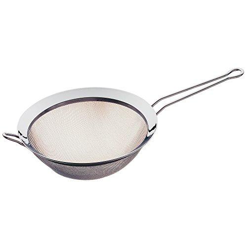 Deckel Mit Topf Sieb Pasta (WMF Gourmet Küchensieb, Ø 22 cm, Cromargan Edelstahl, rostfrei poliert, spülmaschinengeeignet)