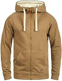 BLEND Speedy Herren Sweatjacke Kapuzen-Jacke Zip-Hood aus einer hochwertigen Baumwollmischung