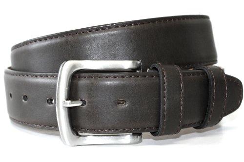 Tedd Haze Geld-Fach Leder Gürtel schwarz ca.95cm