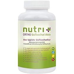 Stoffwechselaktivator Nutri-Plus Stoffwechsel Aktiv - 120 Kapseln zur Unterstützung des Stoffwechsels und der Diät - Das optimierte Markenprodukt