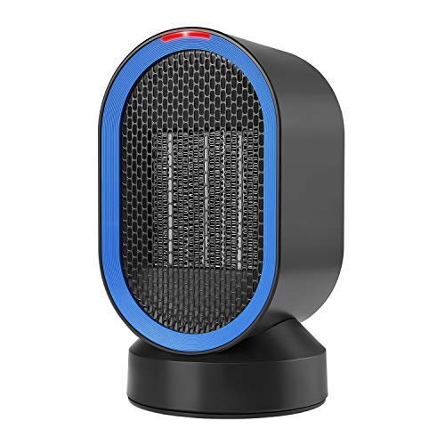 COMLIFE Calefactor Eléctrico Cerámico Oscilación Automática Viento Caliente y Natural Calentador...