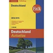 Falk Autoatlas Falkfaltung Deutschland 2014/2015 1:500 000