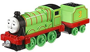 MATTEL Fisher Price dxr65–Thomas Adventures grandes Locomotora Henry, Preescolar de parte Mundos