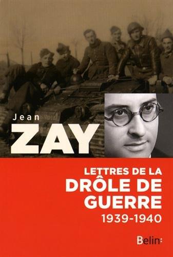 Lettres de la drôle de guerre 1939-1940