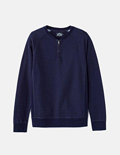 Celio Herren Sweatshirt Fecollar Blau - Blau (Indigo)