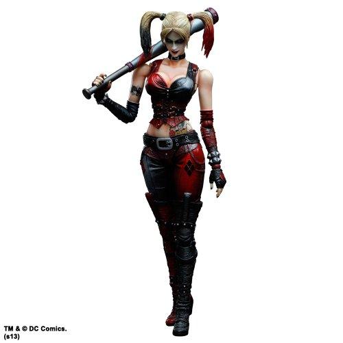 DC Comics Batman Arkham City Play Arts Kai Harley Quinn Actionfigur