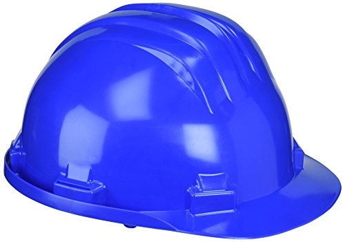 Ferko AR-5RAZ - Casco de obra en polietileno regulable Color AZUL