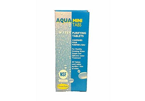 41v J0dTPWL - Aqua Clean Mini Tabs 40 Water Purifying Tablets For Boats Caravans Motorhomes