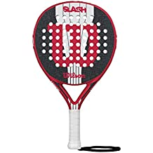 Wilson Slash Paddle RKT RDBKWH - Pala de pádel, Color Rojo/Negro / Blanco