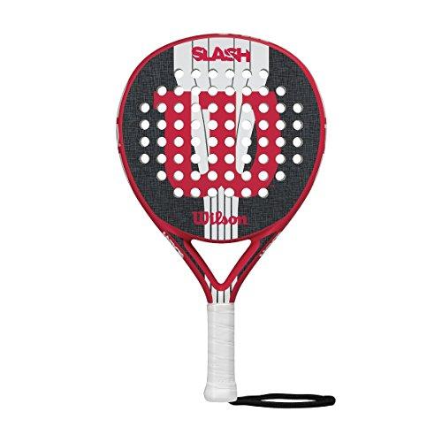 Wilson Slash Paddle RKT RDBKWH - Pala de pádel, color rojo / negro / blanco, talla única